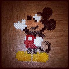 Mickey Mouse hama beads by toruk_makto