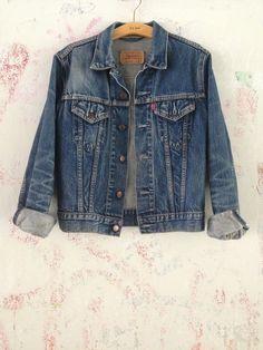 Levi's denim jacket, $68