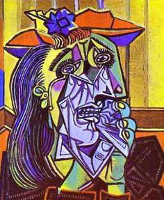 """Pablo Picasso: """"Mujer llorando"""" (1937)"""