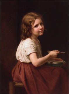 Soup - William-Adolphe Bouguereau