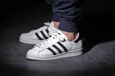 adidas Superstar 80s Deluxe OG Vintage White/Black