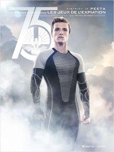 Hunger Games - L'embrasement : Affiche Josh Hutcherson