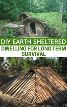 DIY Earth Sheltered Dwelling For Long Term Survival