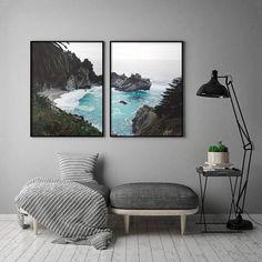2 Piece Coastal Printable 2 Tropical Wall Art 2 Piece