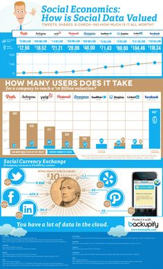 Social Media Infografik - How is Social Data valued