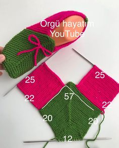 9 Tips for knitting – By Zazok Baby Booties Knitting Pattern, Crochet Shoes Pattern, Knitted Booties, Knitted Slippers, Baby Knitting Patterns, Knitting Socks, Knitting Designs, Free Knitting, Knitting Projects