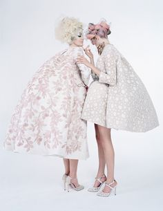 Couture's Outre Attitude - W by Tim Walker, April 2013