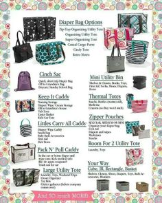 Having a baby or know someone who is? Here are some great Thirty-One products to help you stay organized in style! www.mythirtyone.com/caudill Host a fun easy catalog party from anywhere you live!