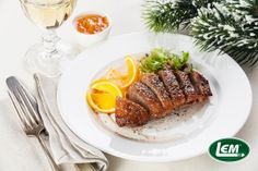 Pecan Pesto Roast Duck Breast - Wild Game Recipes. LEM Products | The Leader In Game Processing