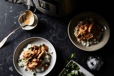 "Urvashi Pitre's ""Now & Later"" Instant Pot pressure cooker Indiana Butter Chicken recipe on Instant Pot Pressure Cooker, Pressure Cooker Recipes, Pressure Cooking, Instant Pot Butter Chicken Recipe, Chicken Lady, Chicken Rice, Food 52, Indian Food Recipes, The Best"