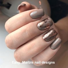 Nails classy 10 Unique Ways to Show off Your Gel Nail Designs: Marble & Glitter Gel Nail . 10 Unique Ways to Show off Your Gel Nail Designs: Marble & Glitter Gel Nail Design; Perfect Nails, Gorgeous Nails, Pretty Nails, Foil Nail Art, Foil Nails, Nails With Foil, Foil Nail Designs, Unique Nail Designs, Marble Nail Designs