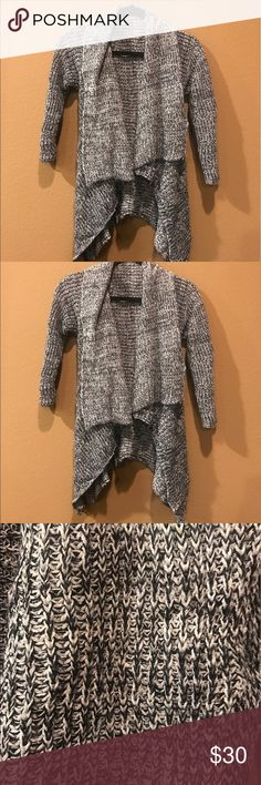 BRANDY MELVILLE CARDIGAN. Grey knit cardigan Brandy Melville Sweaters Cardigans