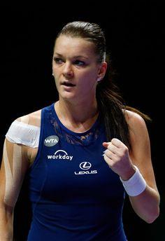 Agnieszka Radwanska Photos - BNP Paribas WTA Finals: Singapore 2015 - Day One - Zimbio