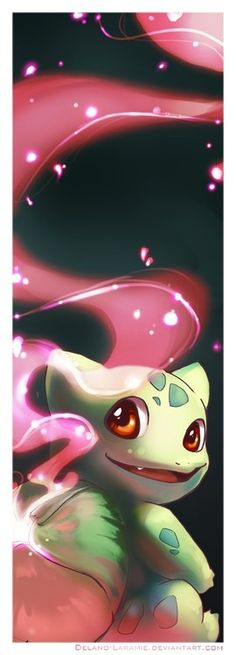 Bulbasaur Pokemon- the original grass starter, one of my favorite starters overall