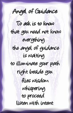 Guidance Angel, Free Angel Card Readings, Ask The Angel Oracle Cards