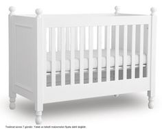 A stunning luxury nursery furniture collection from Woodwork. The Mary designer cot bed is made from solid pine wood and is available as part of the Mary collection. Baby Clothes Uk, Luxury Nursery, Nursery Furniture Collections, Cot Bedding, Girls Bedroom, Cribs, Pure Products, Wood, Mary