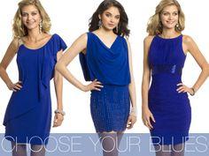 Camille La Vie Short Blue Cocktail Party Dresses