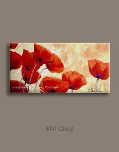 Pintura grande del arte de la flor pintura al óleo flores