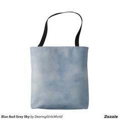 Blue And Grey Sky Tote Bag