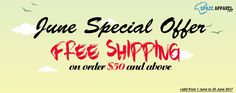 Shop by Brand June, Free Shipping, Shopping
