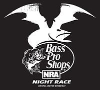 Bass Pro Shops NRA Night Race is a Monster Energy NASCAR Cup Series stock car race held at Bristol Motor Speedway in Bristol, Tennessee. It is one of two NASCAR Cup Series races held at Bristol, the other being the Food City 500, but it is by far the more popular of the two. Since 1978, the race has been held in late-August, typically on the last weekend of the month, on a Saturday night.