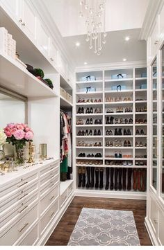 One day I will have a closet like this