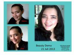 webinar Beauty Demo 21 juli 2013  Before After