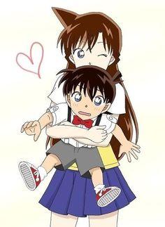 Ran and Conan <3