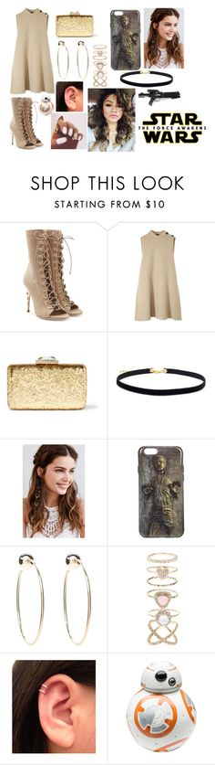 """Star wars themed party"" by foxandpanda ❤ liked on Polyvore featuring Balmain, Episode, Derek Lam, KOTUR, REGALROSE, Bebe, Accessorize, Coleman and Zak! Designs"