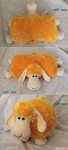 KUFER z artystycznym rękodziełem : Amigurumi - wzory Chevron Crochet, Crochet Basics, Crochet Toys, Free Pattern, Projects To Try, Bunny, Wool, Handmade, Crafts