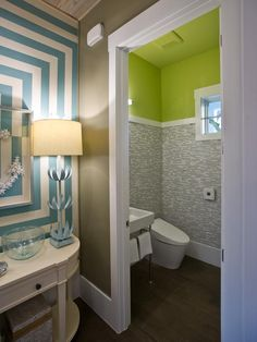 Cottage Bathrooms from Linda Woodrum on HGTV