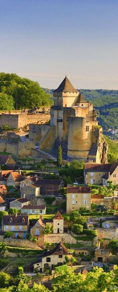 Dordogne, France. On my bucket list for 2015 or 2016! I want to hike and meander along the nooks and crannies of this valley!
