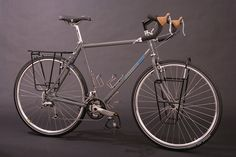 """Bruce Gordon Cycles — The """"Fully Loaded"""" BLT (Complete Touring Bike with Front and Rear Racks)"""