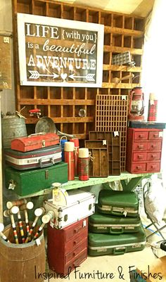 Inspired Furniture & Finishes The Funky Junk Antique Show 2015 www.facebook.com/inspiredfurniture