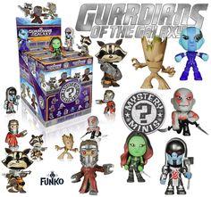 Guardians of Galaxy Mystery Mini Vinyl Figures