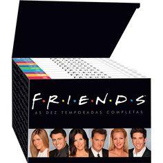 Coleção Friends - As Dez Temporadas Completas (40 DVDs)