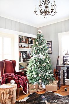 5 Things to Hang from Your Christmas Tree Besides Ornaments | Apartment Therapy