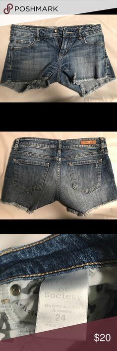 Articles of Society Denim Shorts Denim cutoff shorts Articles Of Society Shorts Jean Shorts