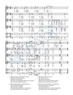 """""""Come Again, Sweet Love"""" for SATB, SSAA, or TTBB choir — NoteNova Publishing"""