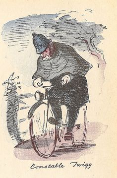 Mr Quill and a case of the horrors - short story illustrated by Ardizzone - The Strand Magazine - May/June 1947 by mikeyashworth, via Flickr