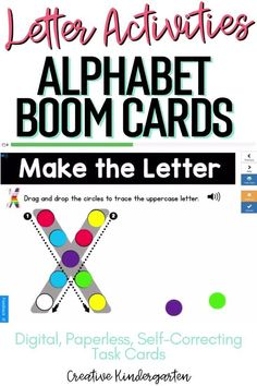 Reinforce uppercase and lowercase letter recognition, letter formation, and letter sounds with hands-on and engaging Boom Card activities. These digital task cards will work on learning to identify and name the letter U. Use this deck for letter of the day, letter of the week or all year to reinforce alphabet knowledge. This pack includes activities for uppercase and lowercase letters, letter discrimination, letter sounds, letter building, and sorting. Kindergarten Centers, Math Centers, Alphabet Activities, Kindergarten Activities, Alphabet Writing, Letter Of The Week, Letter Formation, Uppercase And Lowercase Letters, Literacy Skills