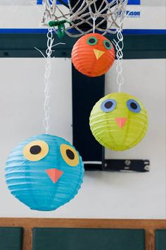 these would be so easy to make and the Dollar Tree has paper lanterns right now...