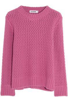 Jil Sander Chunky-knit cashmere sweater NET-A-PORTER.COM
