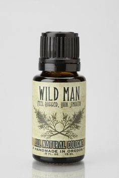 Wild Man All Natural Cologne #urbanoutfitters