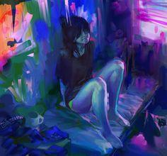 Colorful Illustrations by Benjaminchina
