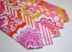 hot pink and orange ties - Google Search