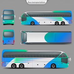 vector realistic coach bus mockup back top view realistic vector Best Bus Mockup Templates Free And Bus Advertising Mockup Bus Advertising, Advertising Design, Mockup Templates, Templates Free, Billboard Mockup, Luxury Bus, London Bus, Car Brands, Free Travel