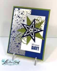 This So Many Stars card was a big hit with my customers this month. It was for my December card clubs. Aren't the colors Teenage Boy Birthday, Birthday Cards For Boys, Male Birthday, Merry Christmas To All, Christmas Star, Christmas Cards, Star Cards, Star Stitch, Fathers Day Cards