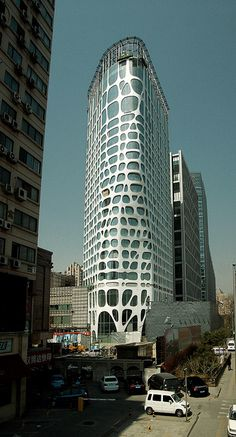 Conrad Hotel, Beijing  MAD Archtects, 2012   by trevor.patt, via Flickr