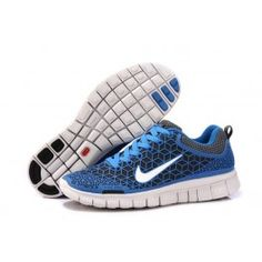1c5c13baef60 2013 Nike Free Blue White Mens Running Shoes All kinds of Cheap Nike Shoes  are provided in Nike store with superior quality and super workmanship to  ...